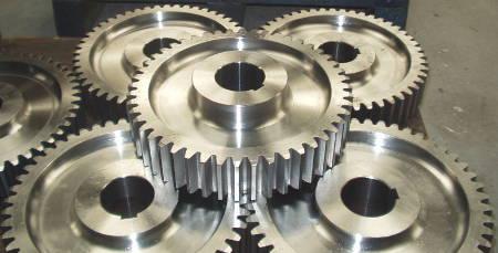 fabrication d'engrenages droits en de nombreuses dimensions
